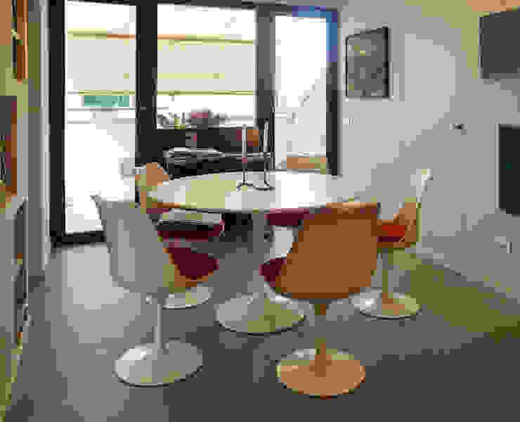 Loft Parco Nomentano – Roma in&outsidesign Sala da pranzo moderna
