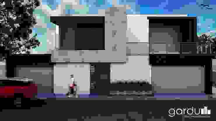 Proyecto J + L Casas modernas de GarDu Arquitectos Moderno