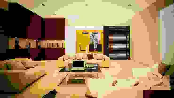Proyecto J + L Salones modernos de GarDu Arquitectos Moderno