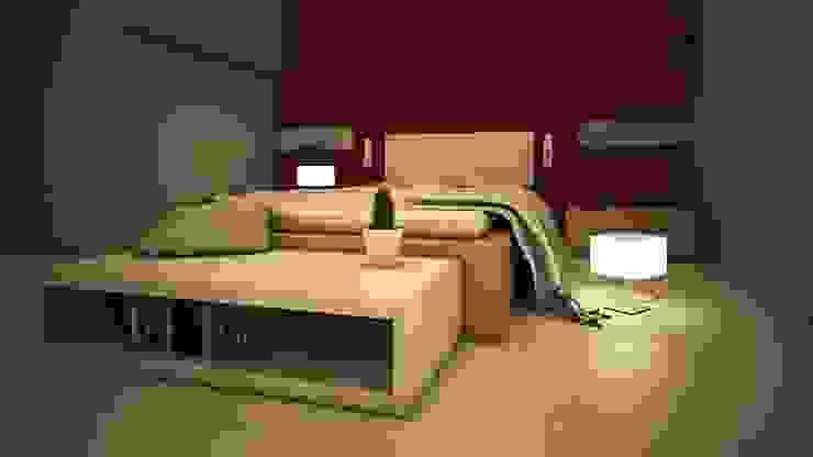 Proyecto J + L Dormitorios modernos de GarDu Arquitectos Moderno