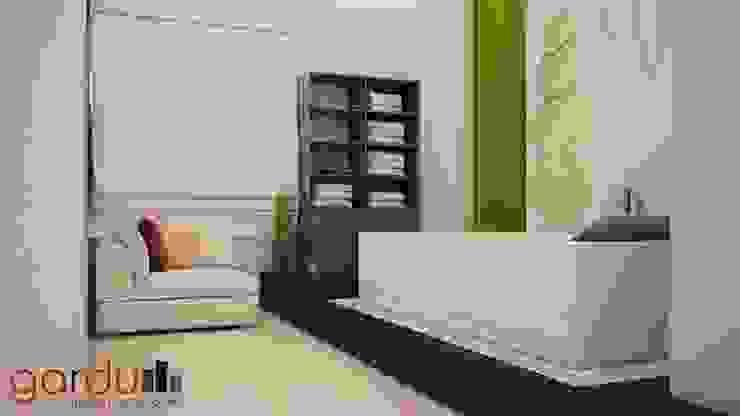 Proyecto J + L Baños modernos de GarDu Arquitectos Moderno