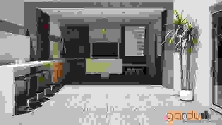 Patios by GarDu Arquitectos , Modern