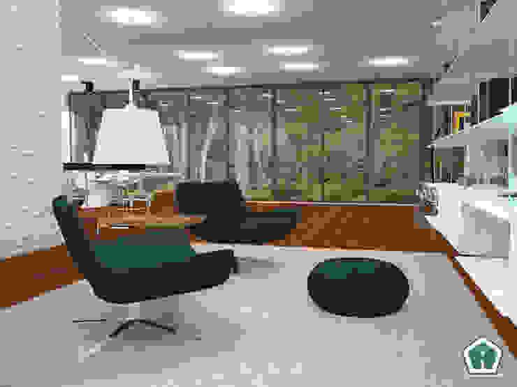 3d Casa Design Ruang Keluarga Modern