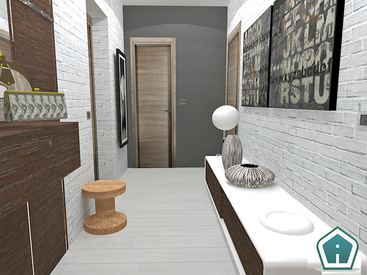 3d Casa Design Koridor & Tangga Modern