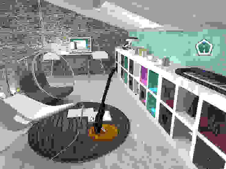 3d Casa Design Ruang Media Modern