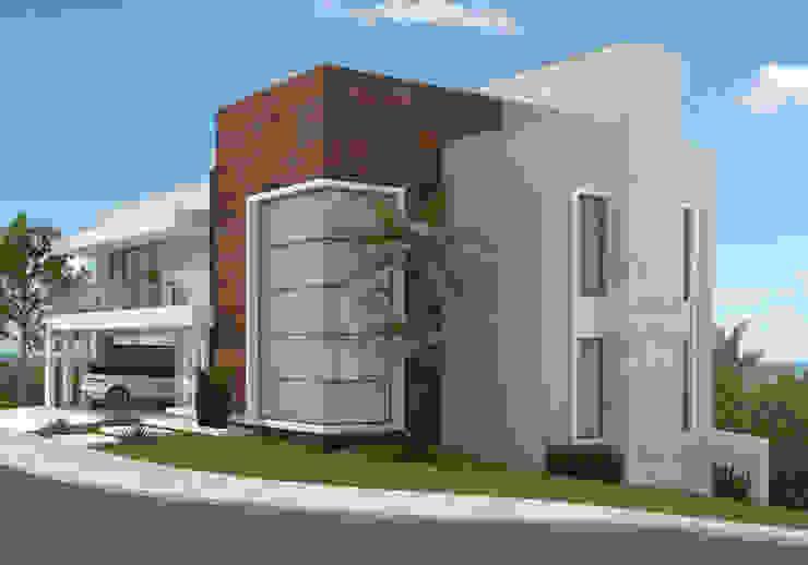 Residência ER55 - La Defense Casas modernas por DOM Arquitetura e Interiores Moderno