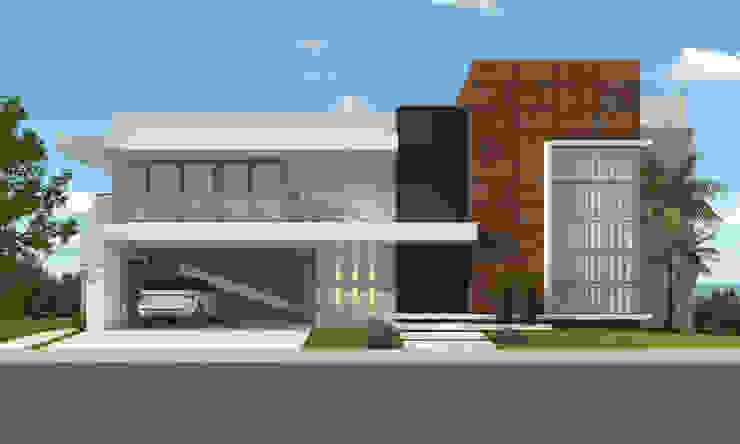Residência ER55 – La Defense Casas modernas por DOM Arquitetura e Interiores Moderno