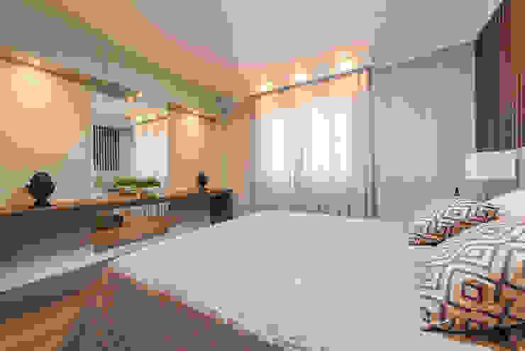 Apartamento B24 Quartos modernos por DOM Arquitetura e Interiores Moderno