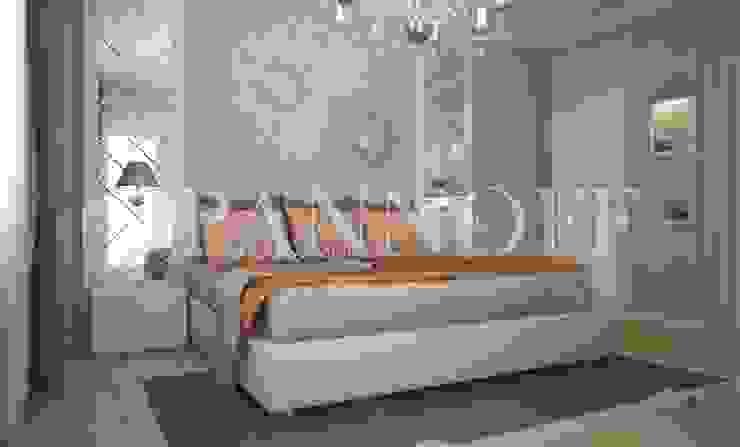 Панно из зеркал в спальной комнате от Pannoff Классический