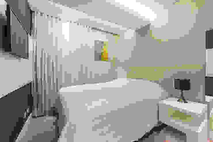 Apartamento em Curitiba – PR. Quartos modernos por DOM Arquitetura e Interiores Moderno