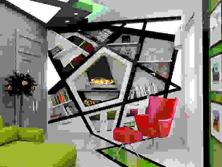 Abb Design Studio – Concept (Living Room) - RU:  tarz Oturma Odası