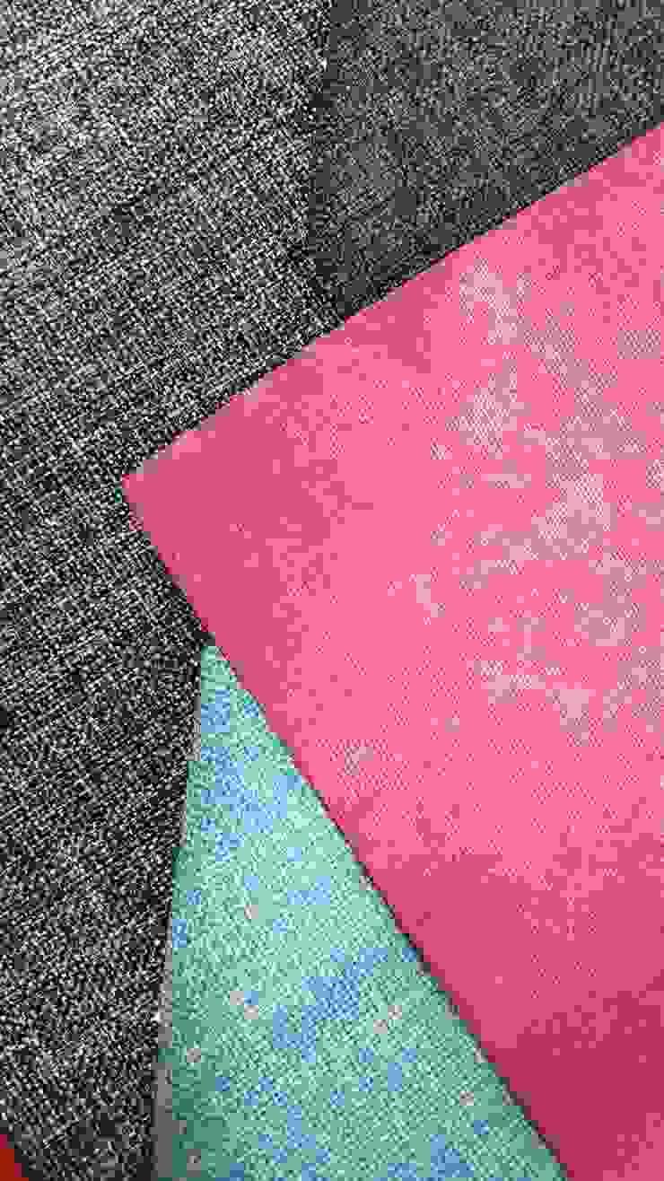 Contrastes de decoplas textil Moderno Textil Ámbar/Dorado