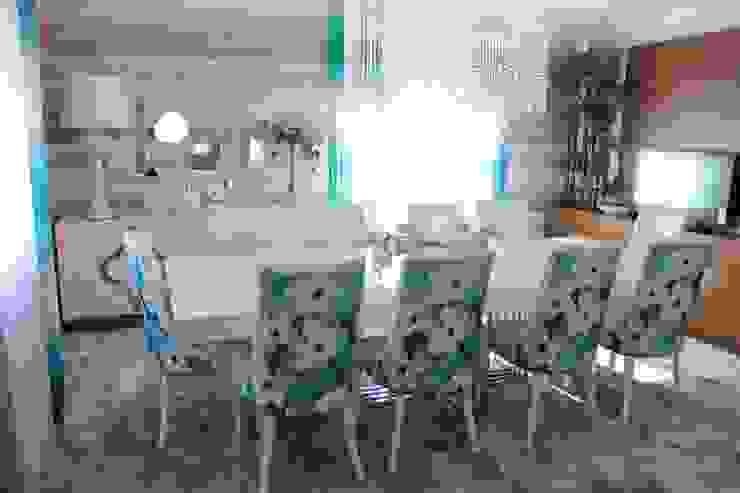 Andreia Louraço - Designer de Interiores (Email: andreialouraco@gmail.com) ЇдальняСтільці та лавки Льон / льон Синій