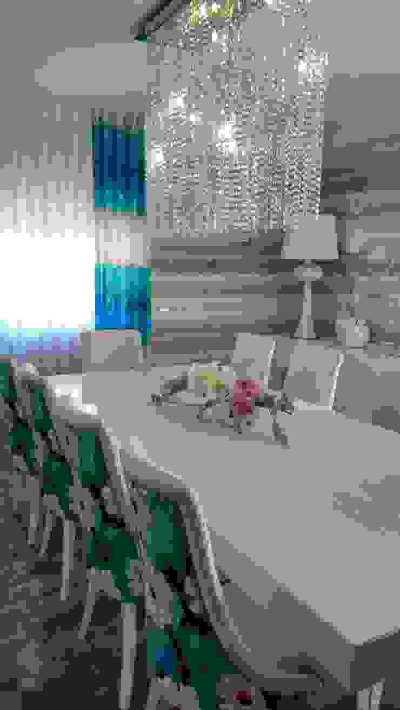 Andreia Louraço - Designer de Interiores (Email: andreialouraco@gmail.com) Їдальня Інженерне дерево Синій
