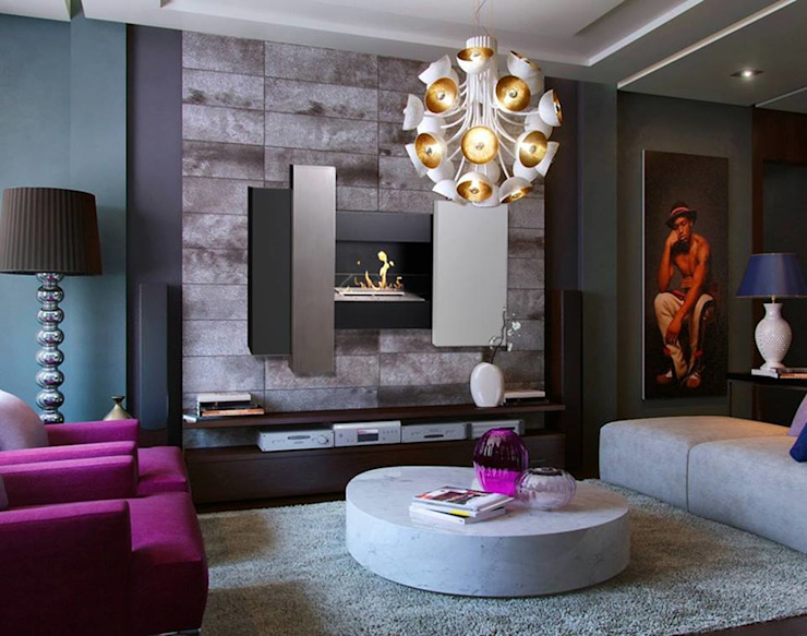 Living room by BIENVENUE CHEZ VOUS