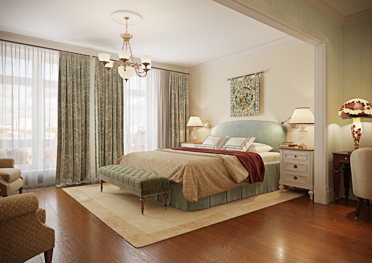 Bedroom by MARION STUDIO, Classic
