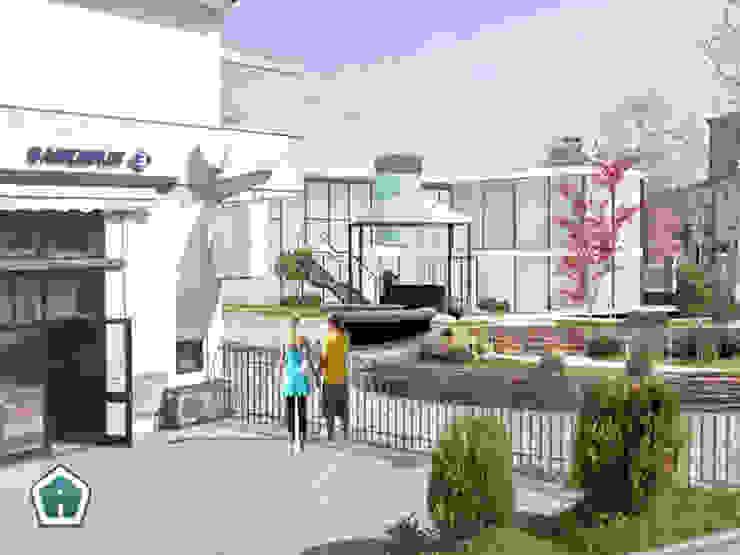 3d Casa Design Taman Modern