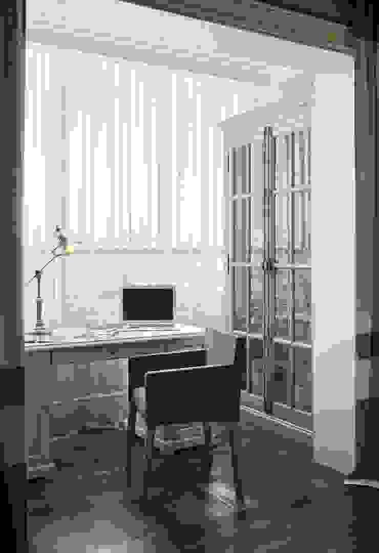 Квартира в ЖК Скай Форт Детские комната в эклектичном стиле от MARION STUDIO Эклектичный