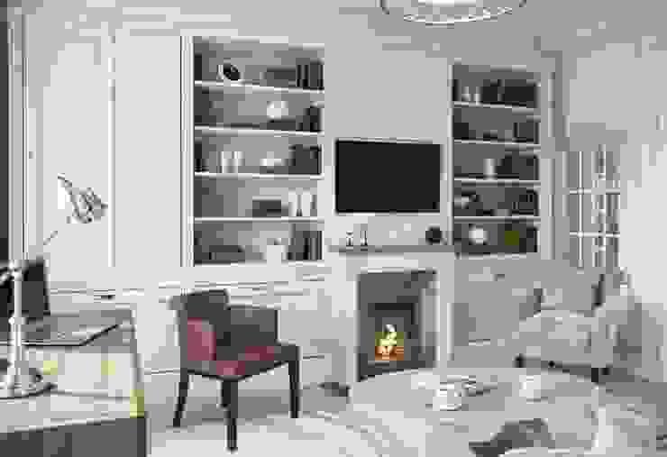 Дом в Madison Park Рабочий кабинет в эклектичном стиле от MARION STUDIO Эклектичный