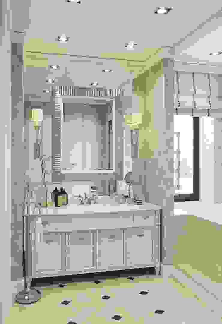 Дом в Madison Park Ванная комната в эклектичном стиле от MARION STUDIO Эклектичный