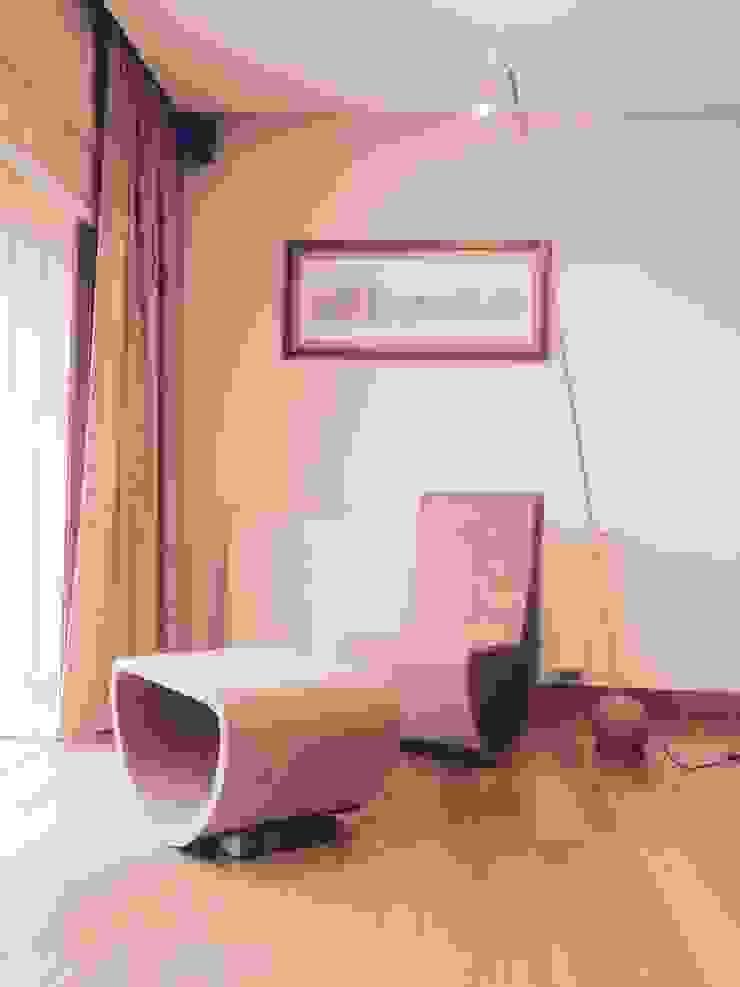Sofá de balanço em cortiça por MinimalCork Minimalista Cortiça