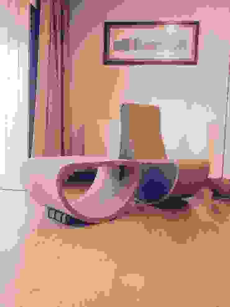 Sofá de balanço em cortiça com travões de inclinação reguláveis por MinimalCork Minimalista Cortiça