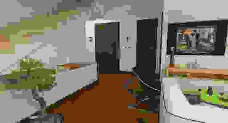 3d Casa Design Коридор, прихожая и лестница в модерн стиле