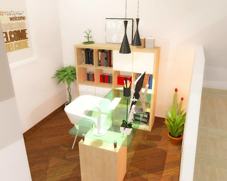 Modern study/office by 3d Casa Design Modern