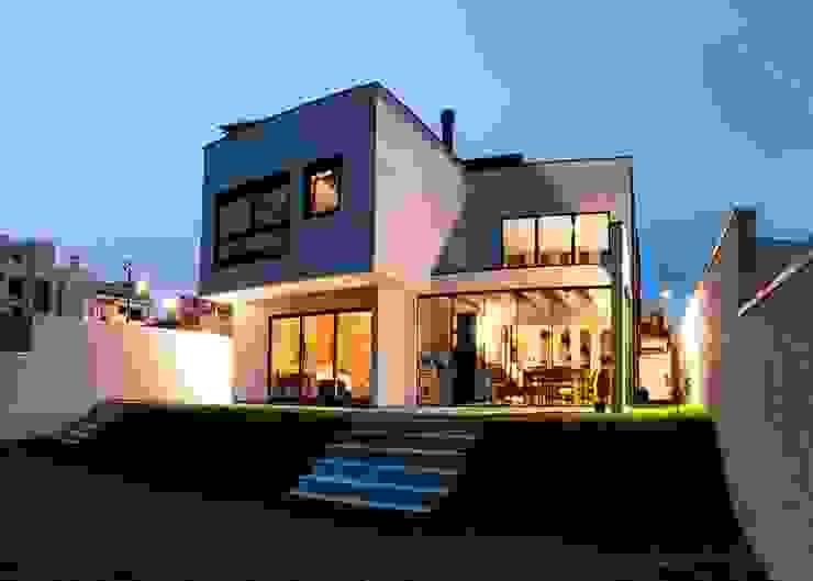 Casas  por cunha² arquitetura
