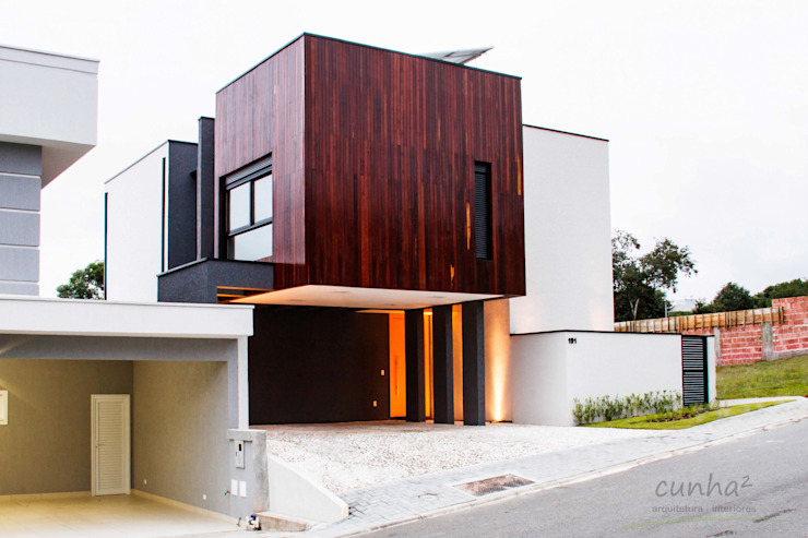 Arquitetura Sustentável cunha² arquitetura Casas minimalistas Madeira