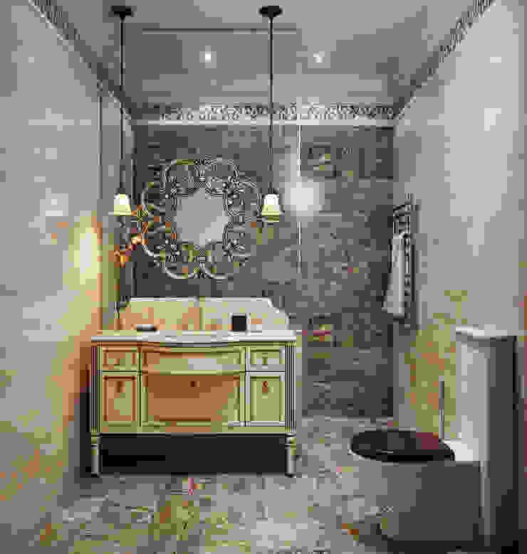 Дом в поселке Красное Ванная в классическом стиле от MARION STUDIO Классический