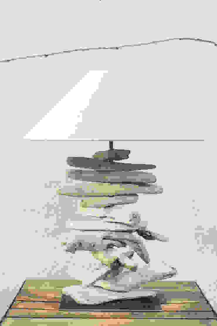 Lámpara Driftwood sobremesa Atelier de Desseins SalonesIluminación Madera
