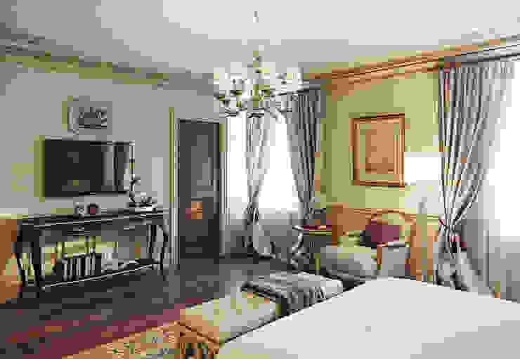 Дом в поселке Красное Спальня в классическом стиле от MARION STUDIO Классический