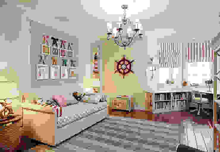 Дом в поселке Красное Детская комнатa в классическом стиле от MARION STUDIO Классический