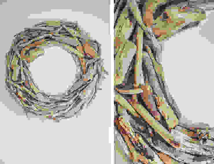 Espejo driftwood Atelier de Desseins Vestíbulos, pasillos y escalerasAccesorios y decoración Madera