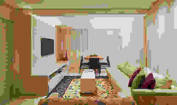 Dubal Arquitetura e Design ห้องนั่งเล่น