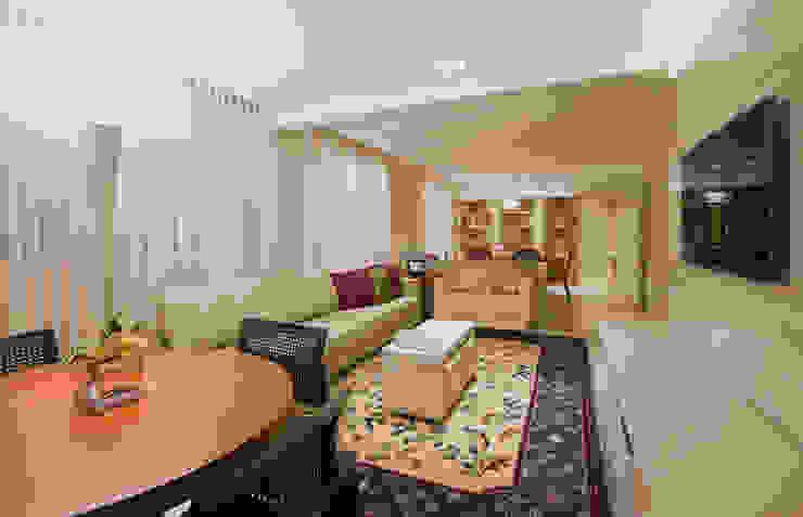 Apartamento Cidade Nova Salas de estar modernas por Dubal Arquitetura e Design Moderno