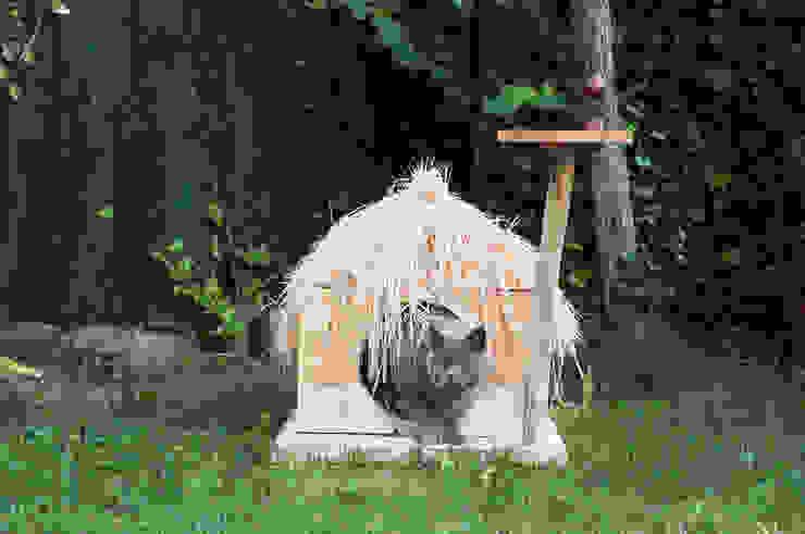 Cabaña para mascotas Atelier de Desseins Paisajismo de interiores Madera