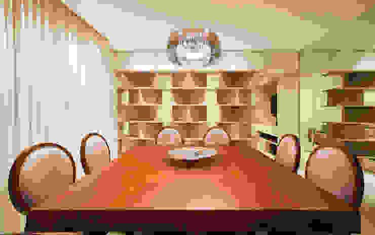 Apartamento Cidade Nova Salas de jantar modernas por Dubal Arquitetura e Design Moderno