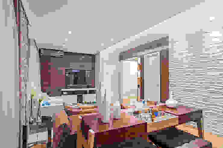 Living Salas de estar modernas por Adriane Perotoni Arquitetura.Interiores Moderno