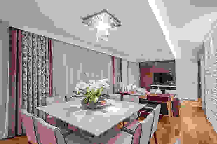 Jantar Salas de jantar rústicas por Adriane Perotoni Arquitetura.Interiores Rústico
