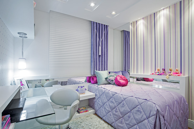 Детская комната в стиле модерн от Adriane Perotoni Arquitetura.Interiores Модерн