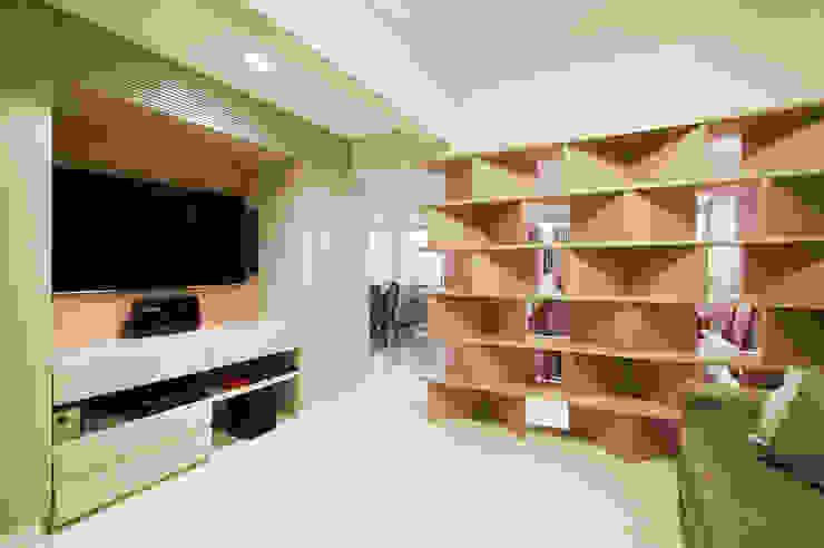Apartamento Cidade Nova Salas multimídia modernas por Dubal Arquitetura e Design Moderno