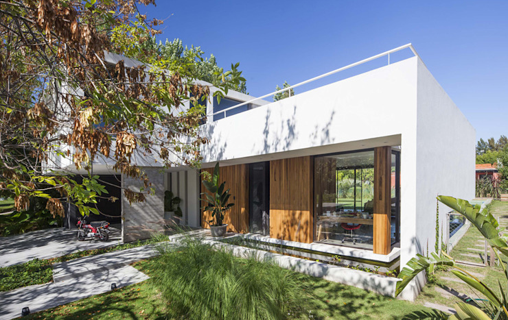 Casa Tana Casas modernas: Ideas, imágenes y decoración de Estudio PKa. / Pessagno Kandus arquitectos Moderno