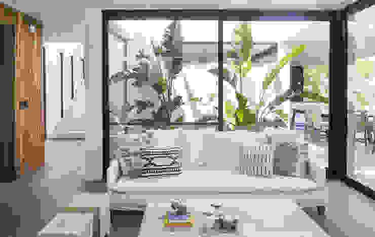 Casa Tana Estudio PKa. / Pessagno Kandus arquitectos Livings modernos: Ideas, imágenes y decoración