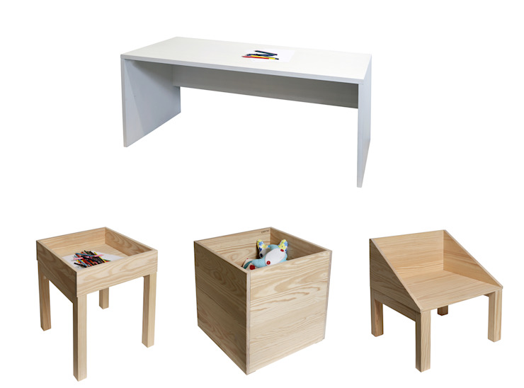 Boa Safra for extra small people! por Boa Safra Escandinavo Derivados de madeira Transparente