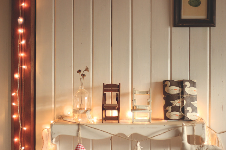 My winter home + A woodland Christmas por La Maison Boop! Moderno