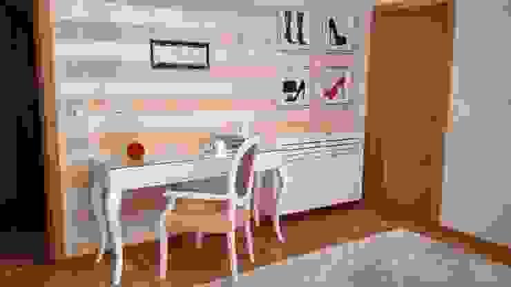 od Andreia Louraço - Designer de Interiores (Contacto: atelier.andreialouraco@gmail.com) Klasyczny Drewno O efekcie drewna