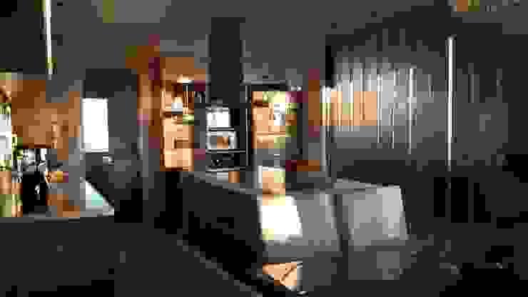 Cocinas modernas de Arquitectos Building M&CC - (Marcelo Rueda, Claudio Castiglia y Claudia Rueda) Moderno