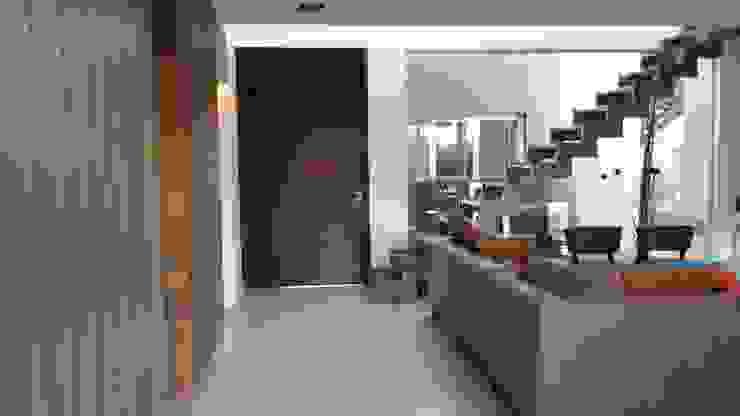Casa en Los Lagos – Nordelta Livings modernos: Ideas, imágenes y decoración de Arquitectos Building M&CC - (Marcelo Rueda, Claudio Castiglia y Claudia Rueda) Moderno